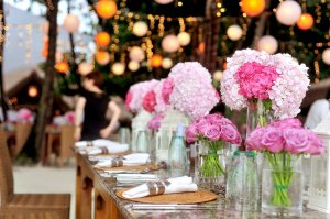 Beautiful table set for a party. How to Earn Easy Cash Renting Your Home on Airbnb