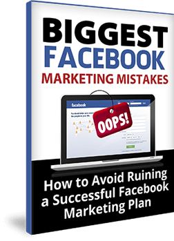 Thinking Outside The Sandbox: Business Biggest-Facebook-Marketing-Mistakes-eBook Social Media 101: Facebook Part 1 - How to create a Facebook fan page All Posts Small Business Social Media TOTS Business  social media 101 how to Facebook fan page Facebook