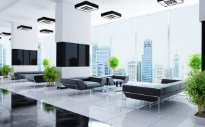 Lighting features is an effective way to optimize your company's office space.
