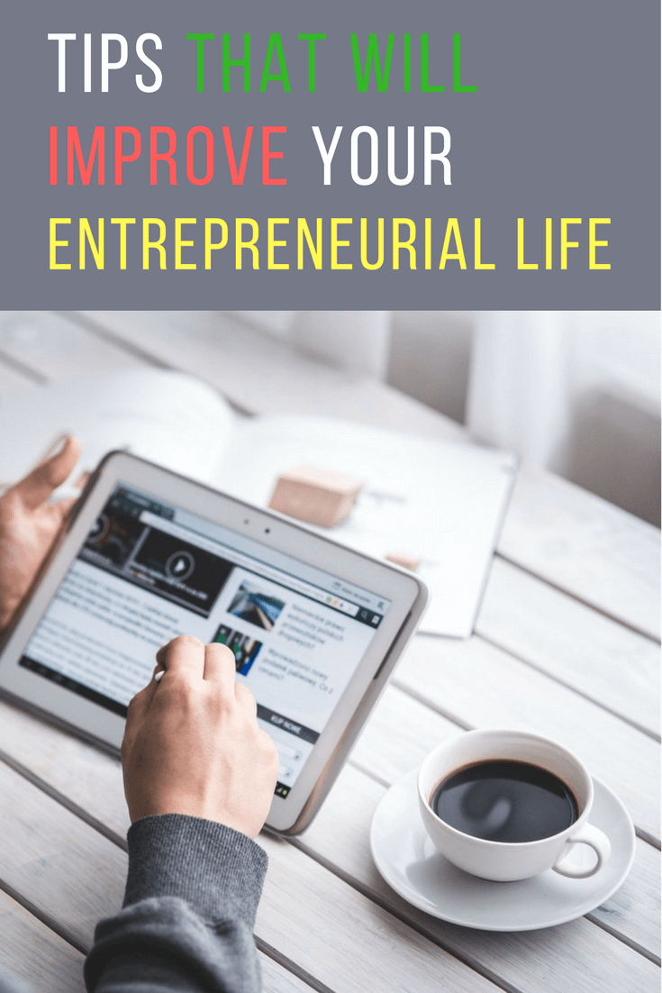 5 Productivity Tips that Will Improve Your Entrepreneurial Life