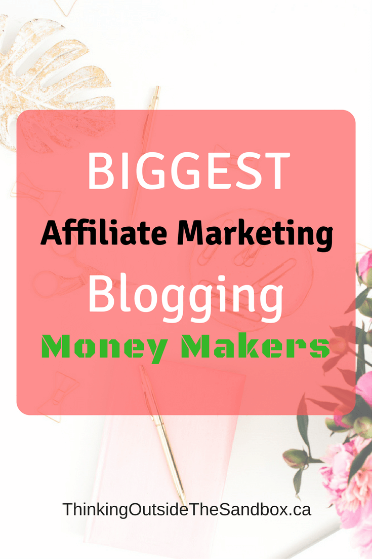 Thinking Outside The Sandbox: Business BIGGEST-Affiliate-Marketing-Blogging-Money-Makers The Top 3 BIGGEST Affiliate Marketing Blogging Money Makers All Posts Blogging Finances Free eBooks Motivation Small Business TOTS Business  affiliate marketing affiliate income affiliate