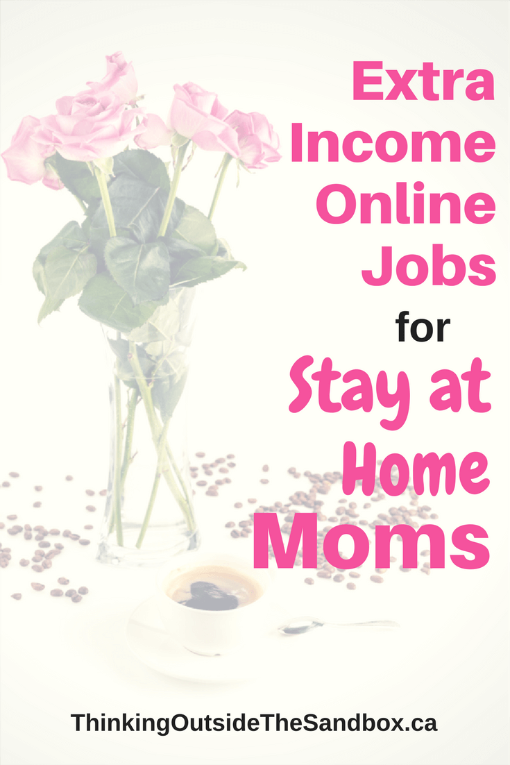 Extra Income Online Jobs for Stay at Home Moms | Thinking Outside ...