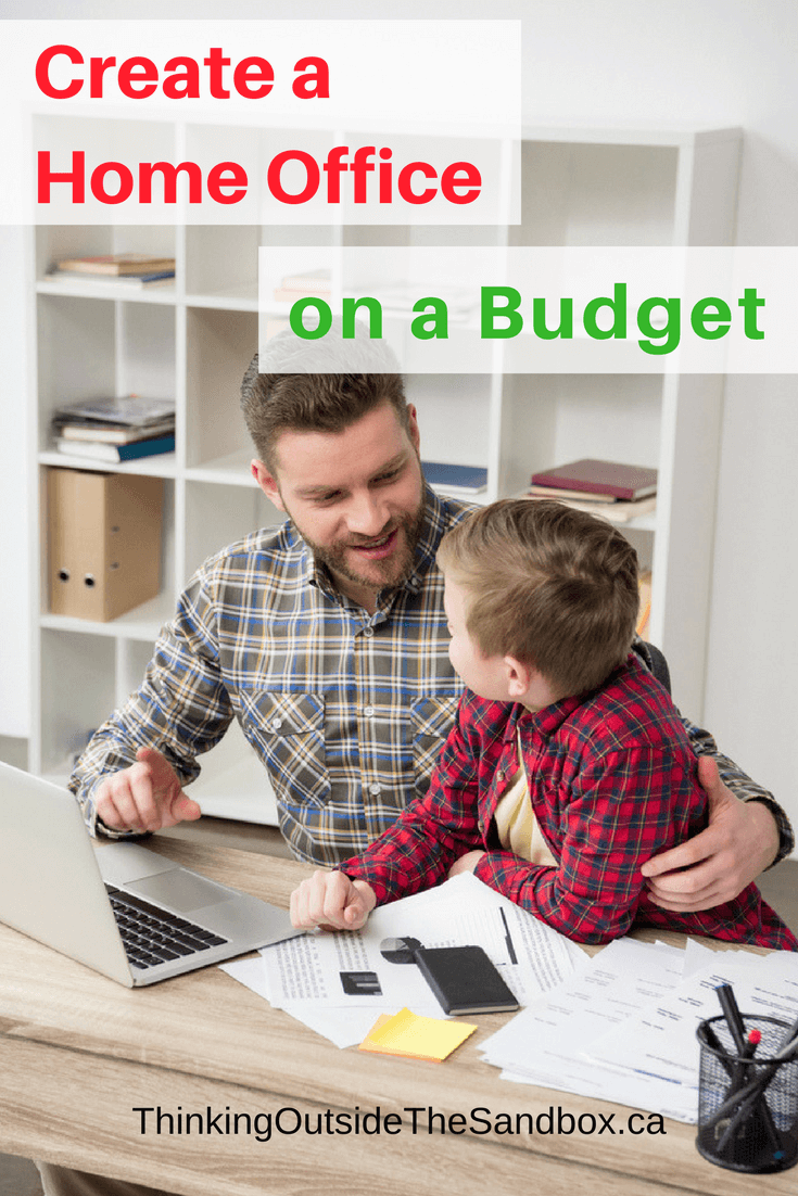 Thinking Outside The Sandbox: Business How-to-Create-a-Home-Office-on-a-Budget How to Create a Home Office on a Budget All Posts Blogging Small Business TOTS Business  workspce home office