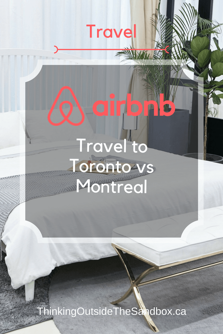 Have you considered travel to Toronto verses Montreal?