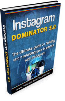 Thinking Outside The Sandbox: Business Instagram-Dominator-5-eBook How To use Instagram for Business All Posts Social Media TOTS Business  wahm social media network instagram instacollage business