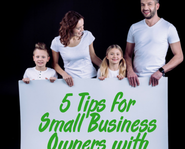5 Tips for Small Business Owners with Kids Home