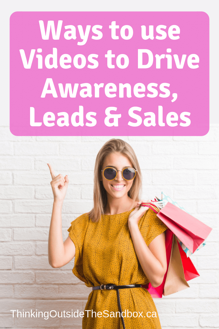 Thinking Outside The Sandbox: Business Ways-to-use-Videos-to-Drive-Awareness-Leads-Sales 5 Powerful Ways to use Videos to Drive Awareness, Leads & Sales Blogging Small Business Social Media TOTS Business  video marketing video