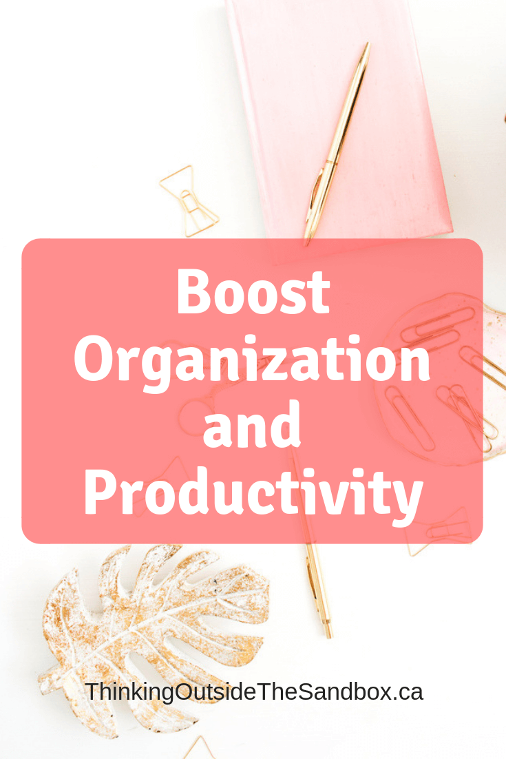 Thinking Outside The Sandbox: Business Boost-Organization-and-Productivity Workplace Design Trends: Boost Organization and Productivity Blogging Motivation Small Business TOTS Business  productivity organization