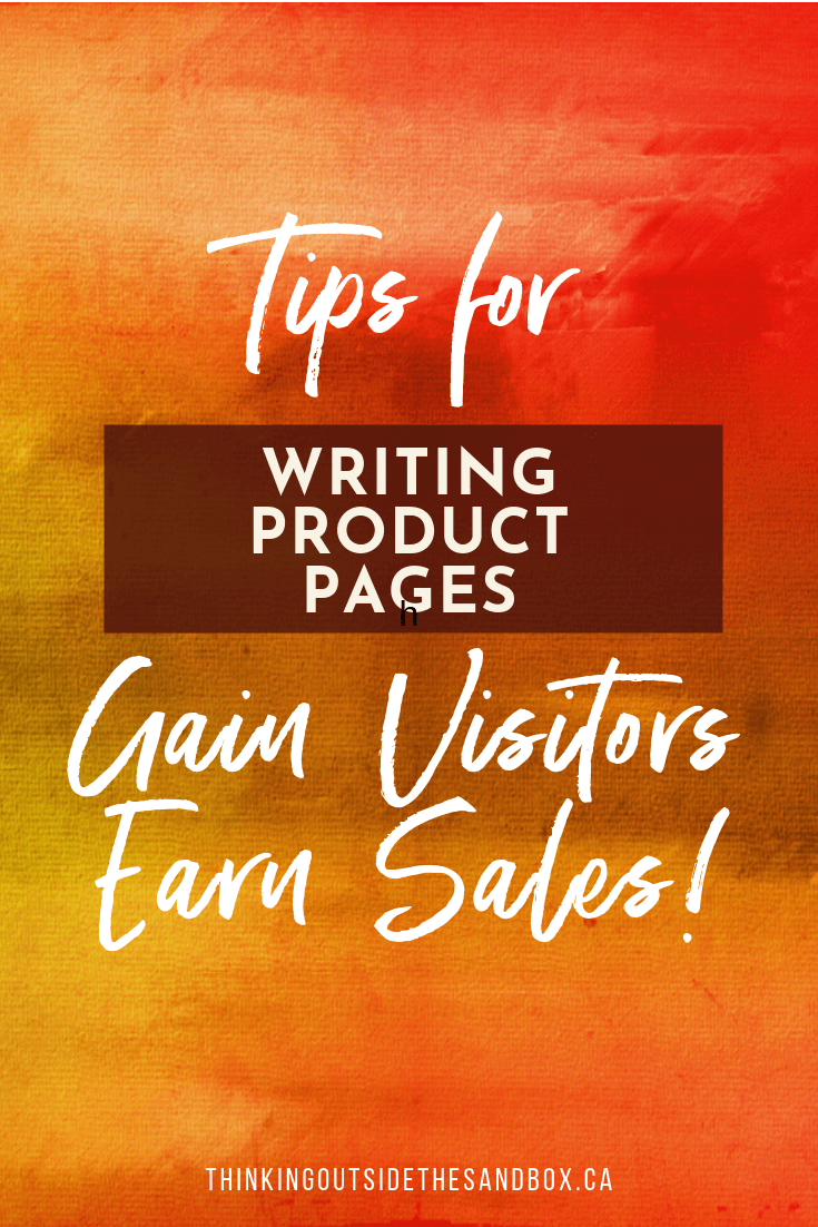 5 Tips for Writing Product Pages that Gain Visitors and Earn Sales