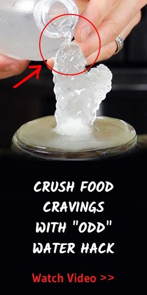 Amazing water hack cures food cravings